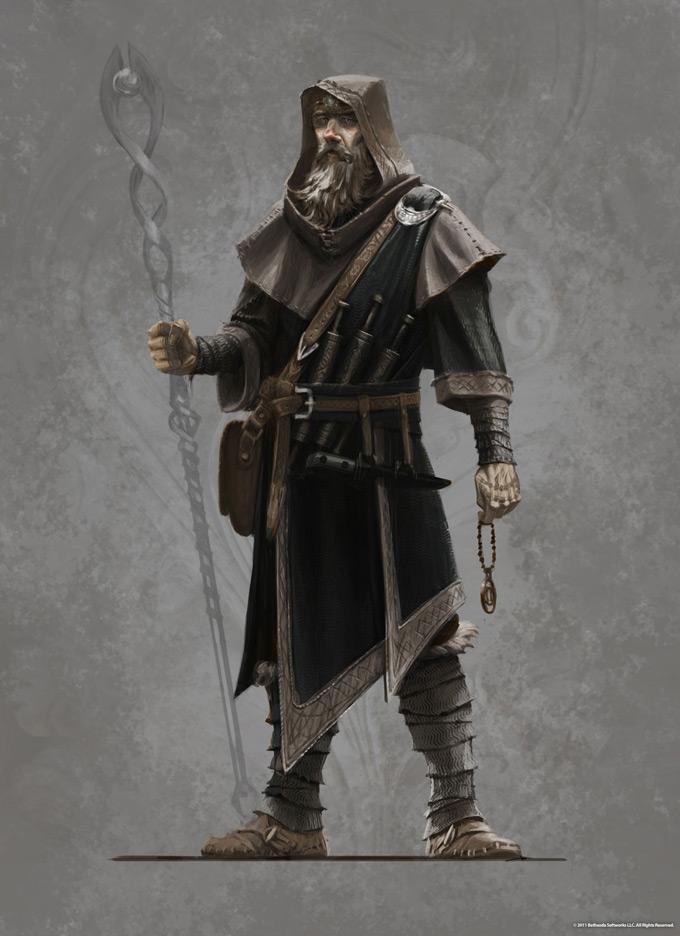The Elder Scrolls V Skyrim Concept Art Ray Lederer 15a