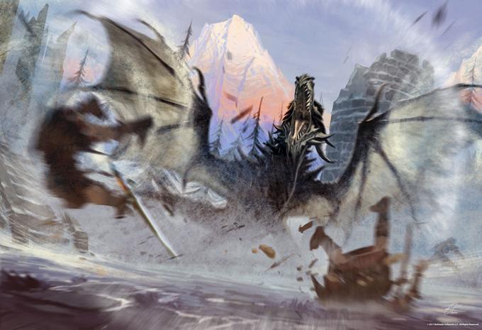 The Elder Scrolls V Skyrim Concept Art Ray Lederer 18a