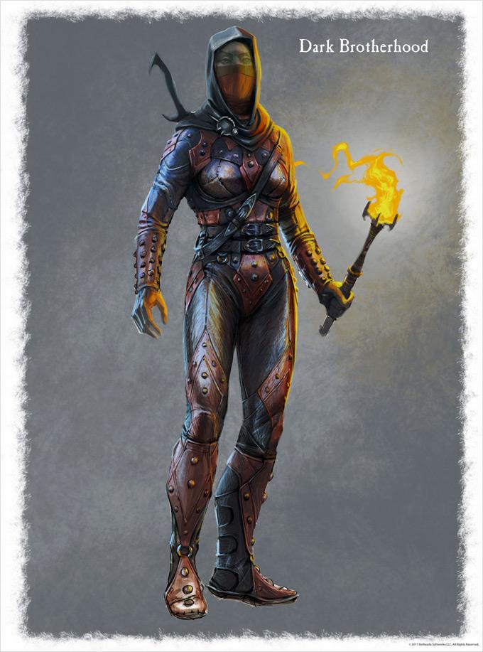 The Elder Scrolls V Skyrim Concept Art Ray Lederer 19a