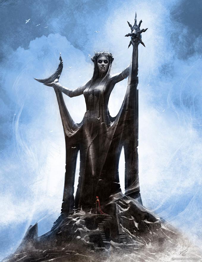 The Elder Scrolls V Skyrim Concept Art Ray Lederer 21a