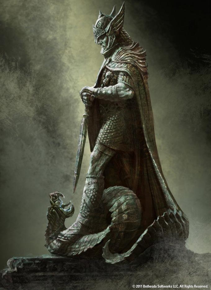 The Elder Scrolls V Skyrim Concept Art Ray Lederer 23a