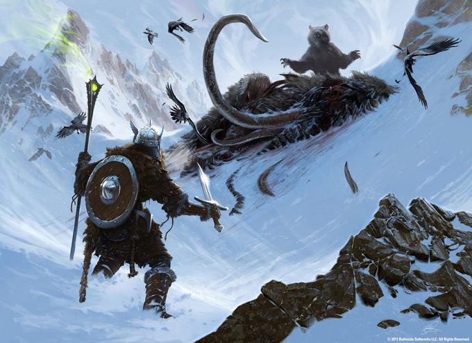 The Elder Scrolls V Skyrim Concept Art Ray Lederer 24a