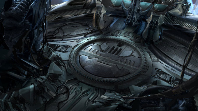 Transformers: Dark of the Moon Concept Art by Ryan Church