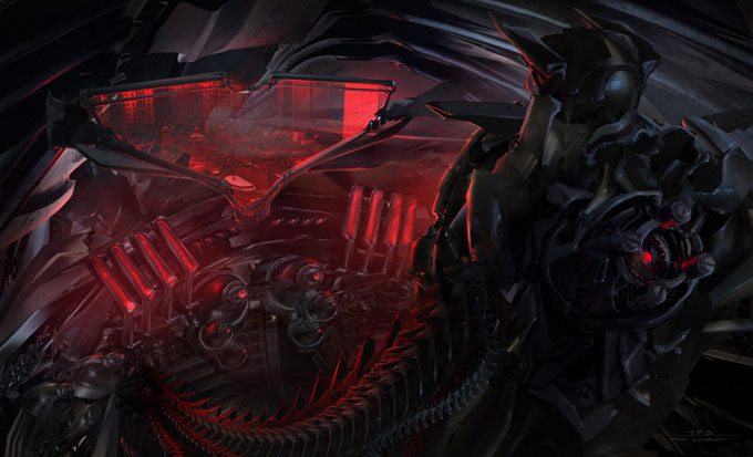 Transformers Dark of the Moon Concept Art by Ryan Church 12a