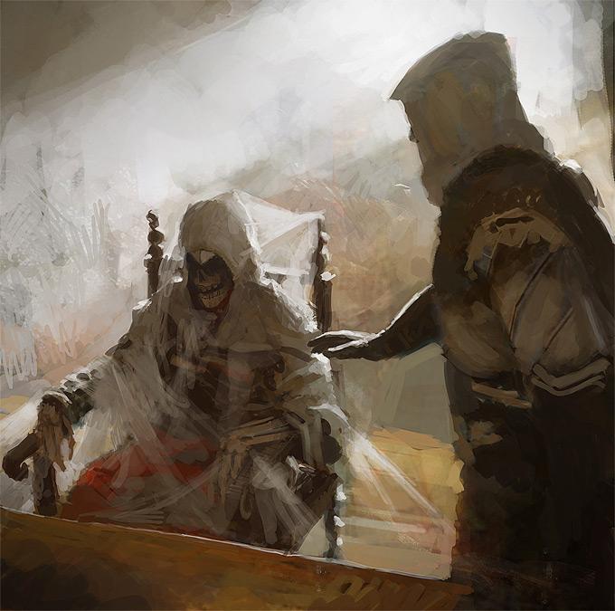 AssassinsCreed Revelations Concept Art Gilles Beloeil 04a