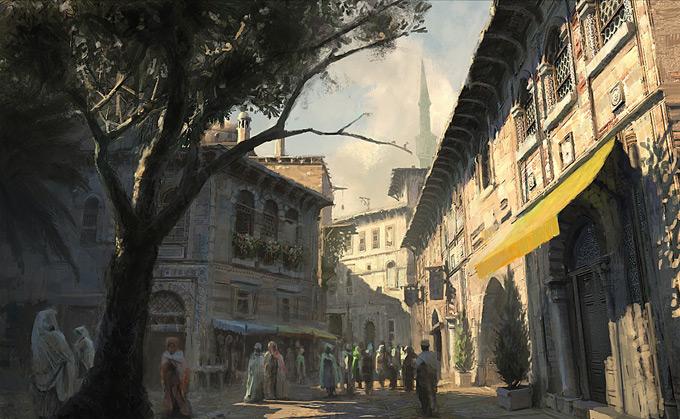 AssassinsCreed Revelations Concept Art Gilles Beloeil 05a