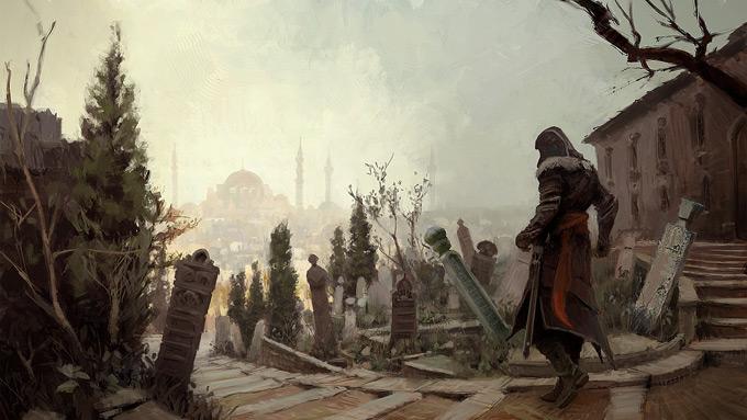 AssassinsCreed Revelations Concept Art Gilles Beloeil 07a