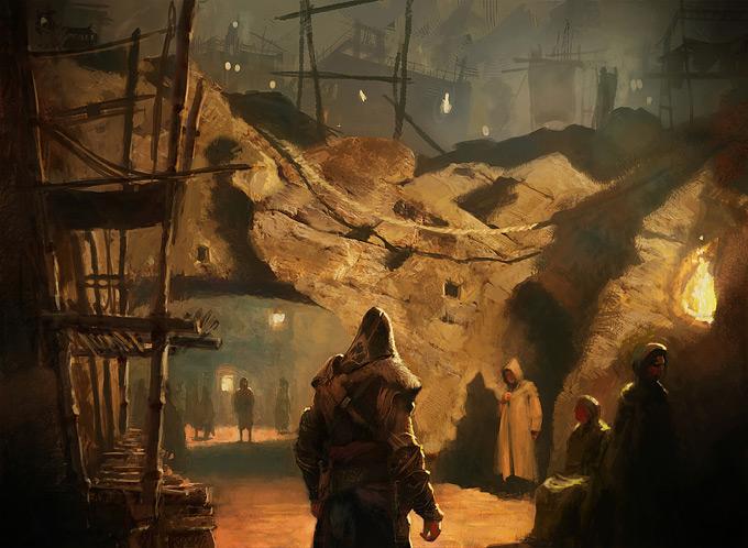 AssassinsCreed Revelations Concept Art Gilles Beloeil 08a
