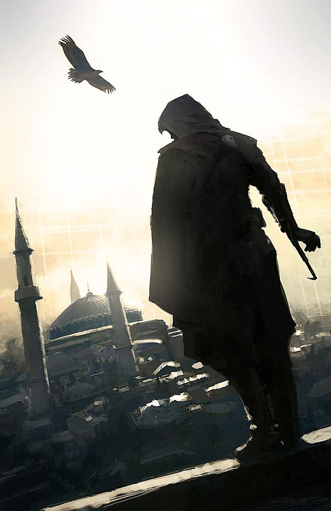 AssassinsCreed Revelations Concept Art Gilles Beloeil 16a