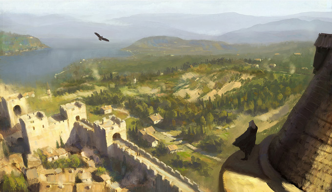 AssassinsCreed Revelations Concept Art Gilles Beloeil 18a