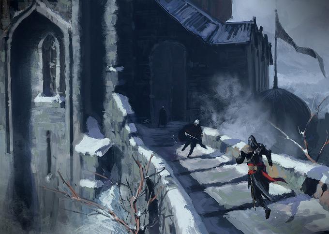 AssassinsCreed Revelations Concept Art Gilles Beloeil 20a