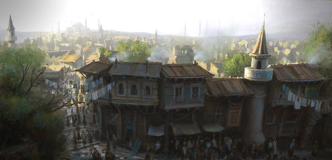 AssassinsCreed Revelations Concept Art Gilles Beloeil 21a