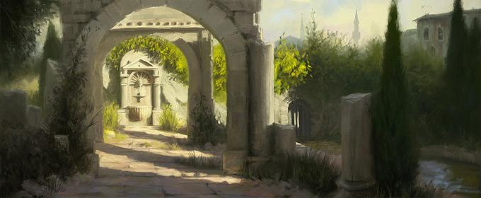 AssassinsCreed Revelations Concept Art Gilles Beloeil 26a
