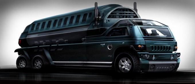 Matt Codd Concept Art and Illutration - Trailer Truck