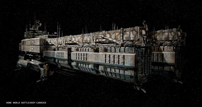 Matt Codd Concept Art and Illutration - Spaceship 2