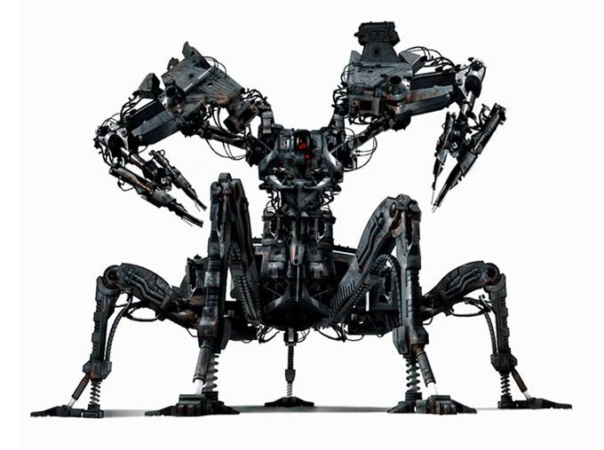 Matt Codd Concept Art - Robot machine