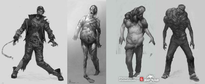Dead Island Concept Art by Artur Sadlos 03a