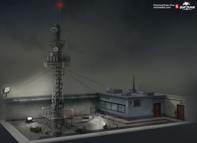 Dead Island Concept Art by Artur Sadlos 20a