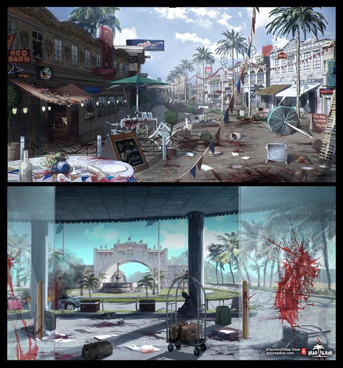 Dead Island Concept Art by Artur Sadlos 23a