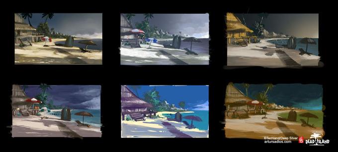 Dead Island Concept Art by Artur Sadlos 24a