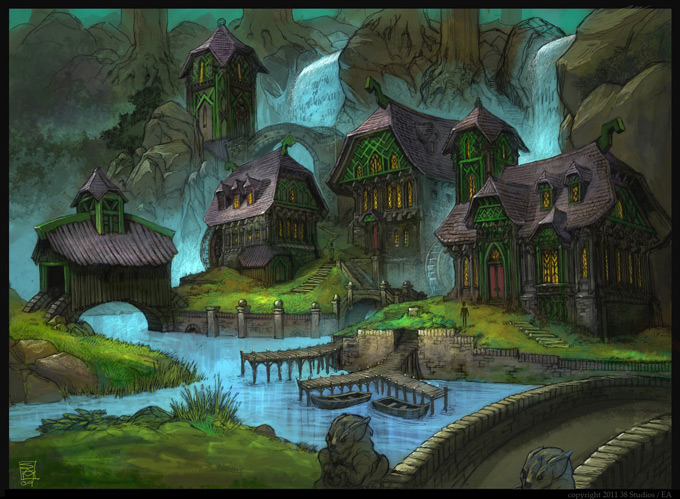 Kingdoms of Amalur Reckoning Concept Art 05a