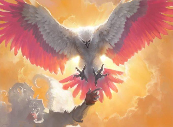 Sidharth Chaturvedi concept art illustration mtg dawn feather eagle