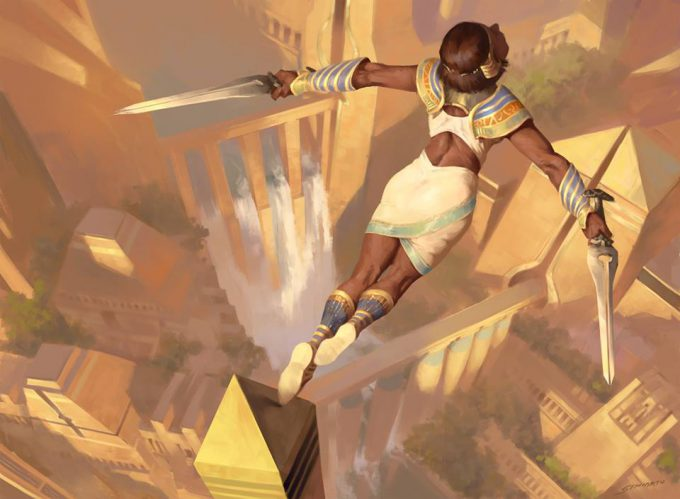 Sidharth Chaturvedi concept art illustration mtg mighty leap