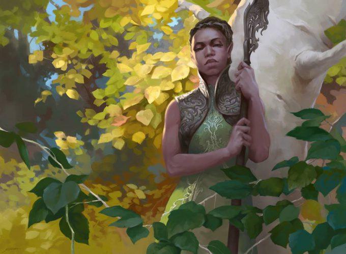 Sidharth Chaturvedi concept art illustration mtg wild wanderer
