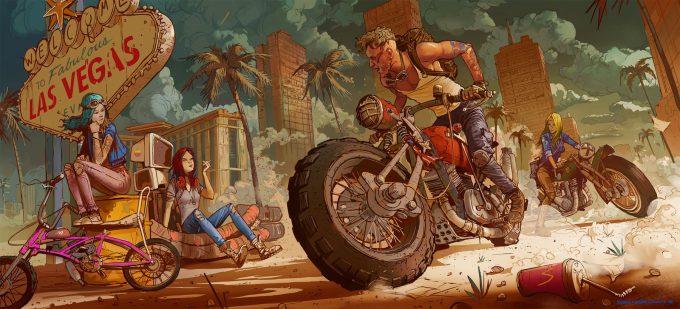 Ignacio Bazan Lazcano Concept Art biker 4