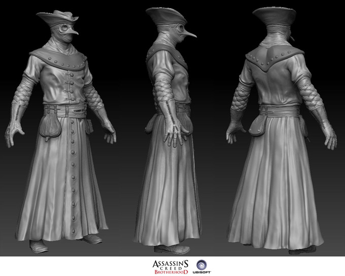 Assassins Creed Concept Art by Antoine Rol 02a