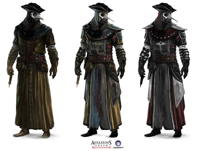 Assassins Creed Concept Art by Antoine Rol 04a