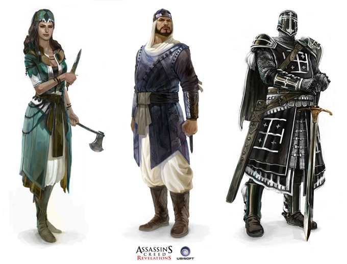 Assassins Creed Concept Art by Antoine Rol 05a