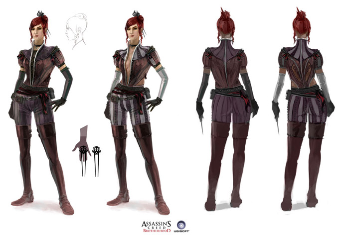 Assassins Creed Concept Art by Antoine Rol 06a