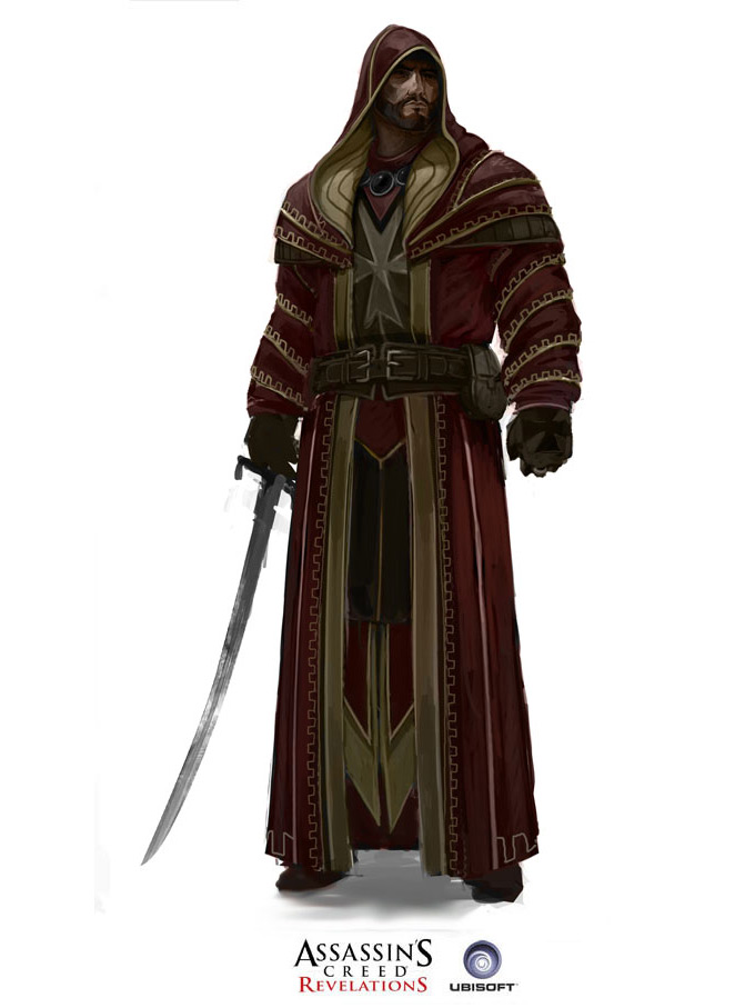 Assassins Creed Concept Art by Antoine Rol 07a