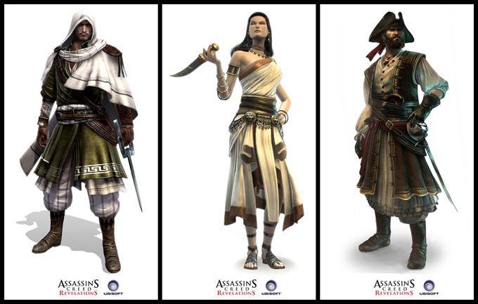 Assassins Creed Concept Art by Antoine Rol 09a