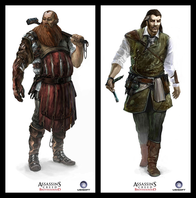 Assassins Creed Concept Art by Antoine Rol 10a
