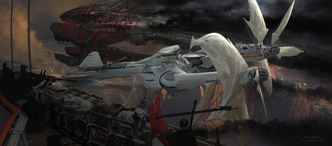 John Carter Concept Art by Ryan Church 01a