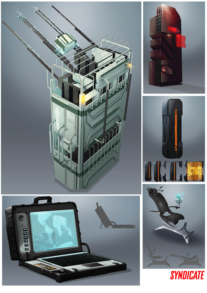 Syndicate Concept Art by Bradley Wright 05a