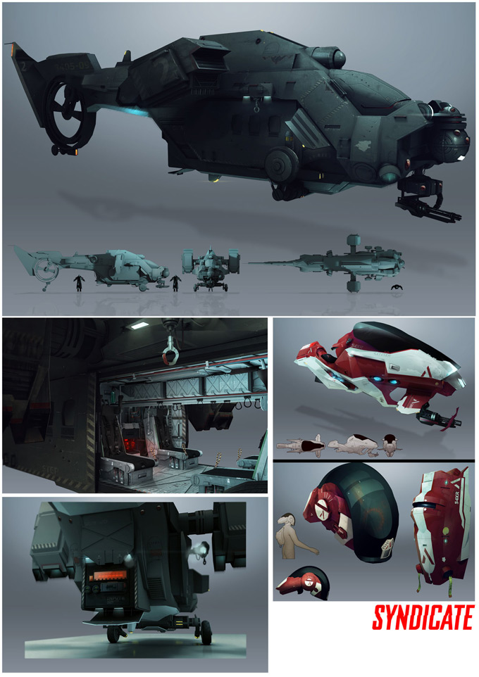 Syndicate Concept Art by Bradley Wright 16a