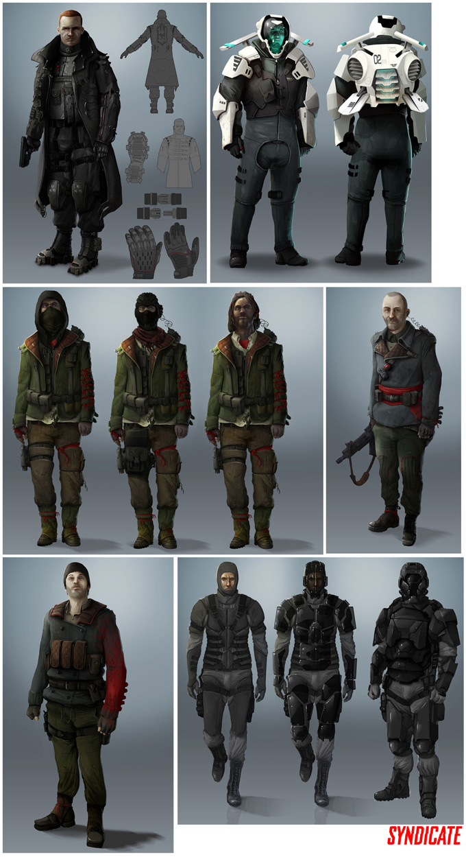 Syndicate Concept Art by Bradley Wright 24a