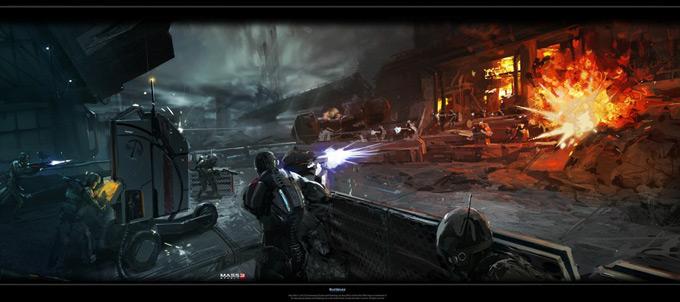 Mass Effect 3 by Benjamin Huen 02a