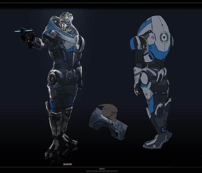 Mass Effect 3 by Benjamin Huen 03a