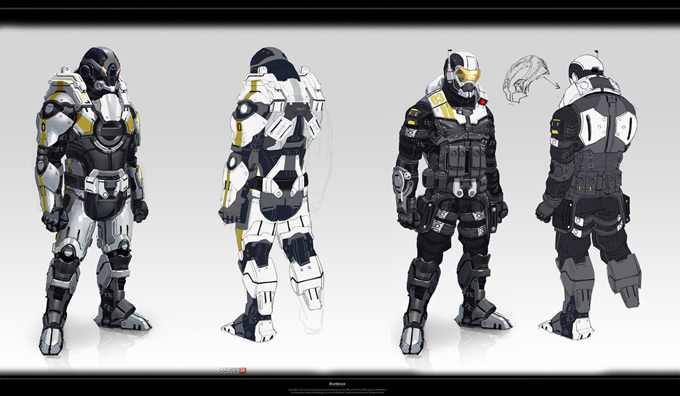 Mass Effect 3 by Benjamin Huen 04a