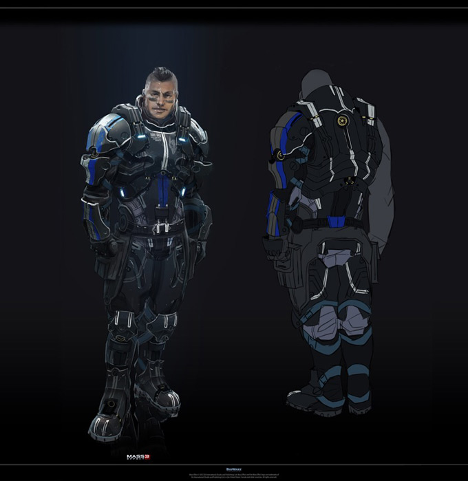 Mass Effect 3 by Benjamin Huen 07a
