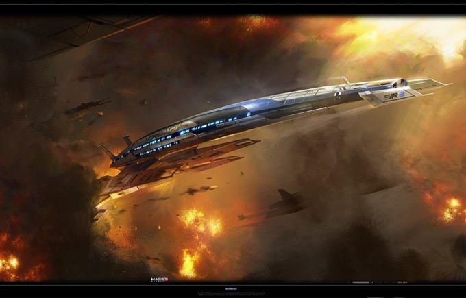 Mass Effect 3 by Benjamin Huen 09a