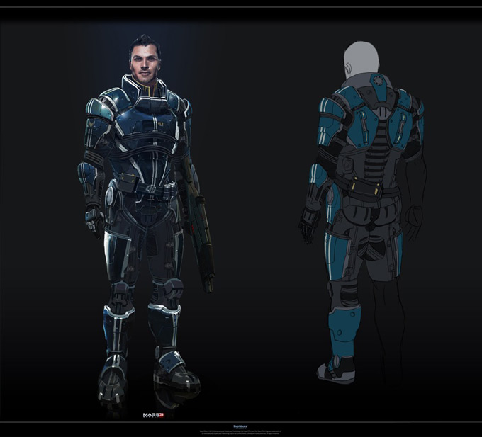 Mass Effect 3 by Benjamin Huen 10a