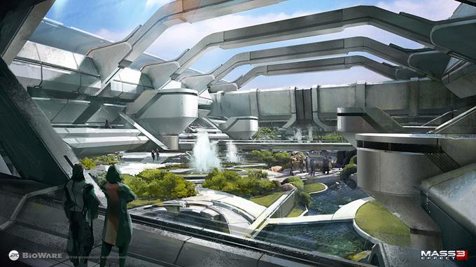Mass Effect 3 Concept Art by Brian Sum 02a