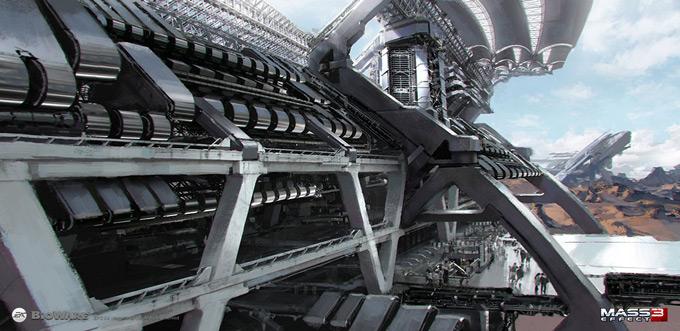 Mass Effect 3 Concept Art by Brian Sum 03a