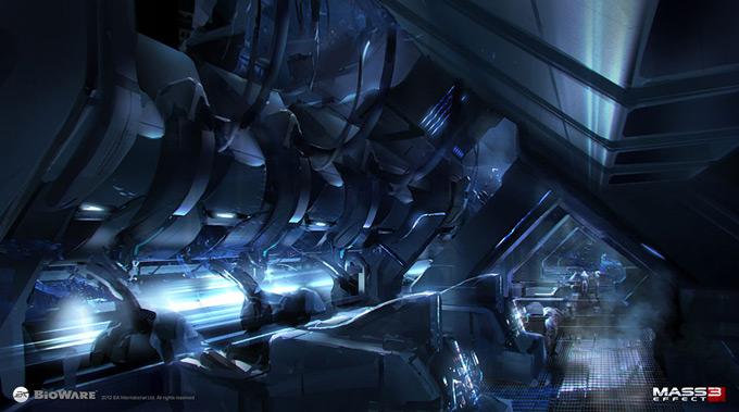 Mass Effect 3 Concept Art by Brian Sum 21a