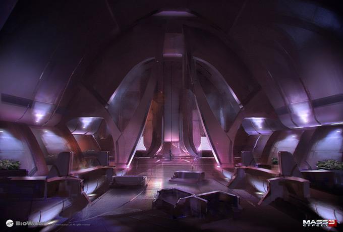 Mass Effect 3 Concept Art by Brian Sum 27a